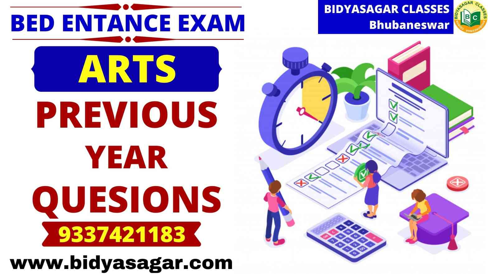 Odisha State B.Ed Entrance Exam Arts Previous Year Questions