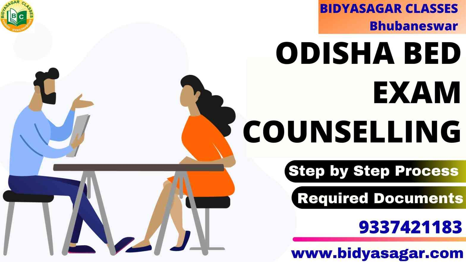 Odisha State B.Ed Entrance 2021 Exam Counselling