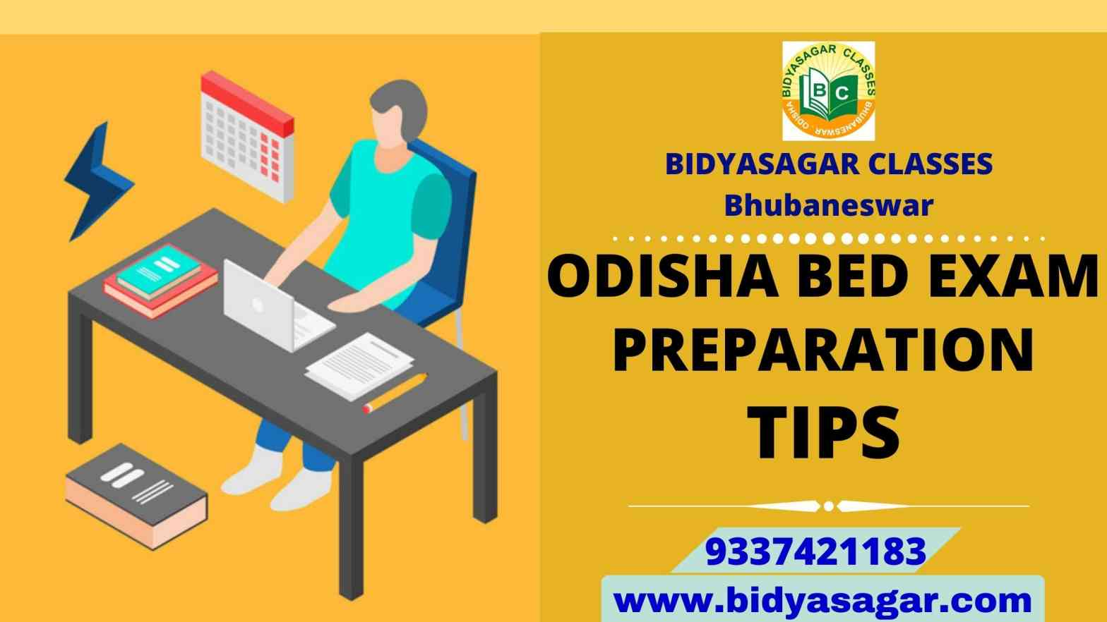 Odisha State B.Ed Entrance 2021 Exam Preparation Tips